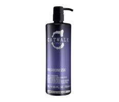 Tigi Catwalk Fashionista Violet Shampoo 750ml - Šampon pro blonďaté a melírované vlasy