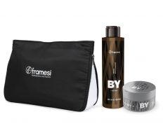 Vánoční balíček Framesi - Energy Black Shampoo 200ml + Working Clay 80ml