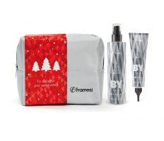 Vánoční balíček Framesi - Protective Detangling Spray 200ml + Smooth & Shine Sérum 150ml