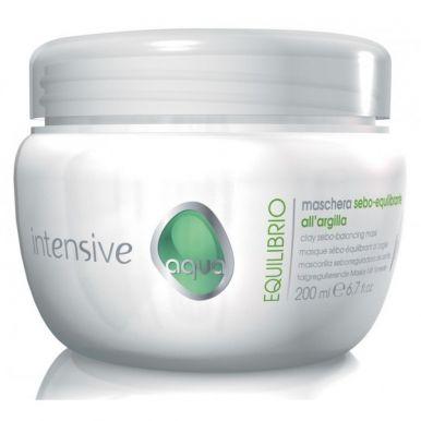Vitalitys Intensive Aqua Equlibrio Mask 200ml - Maska na mastné vlasy